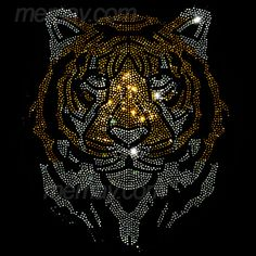 Memay Enterprise | Rhinestone, transfer motifs, garment accessaries, Crystal Beads, Sequines and Spangle trimmings. Crystal Beads, Swarovski Crystals, Tulip Painting, Beautiful Wolves, Shirt Print Design, Rhinestone Transfers, String Art, Bead Art, Beaded Embroidery