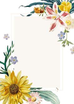 Flower Background Wallpaper, Flower Backgrounds, Images Of Summer, Wreath Drawing, Purple Wedding Invitations, Flower Doodles, Floral Border, Flower Frame, Summer Flowers