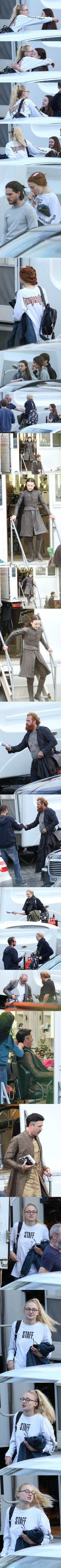 Game of Thrones season 7 set photos