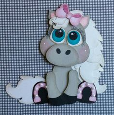 New! KaDoodle Bug Designs-Cutie KaToodle - Horse  I love the pearls on her shoes!