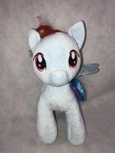 Build A Bear My Little Pony Rainbow Dash Plush Stuffed Animal Collectible Gift   Dolls & Bears, Bears, Build-a-Bear   eBay!