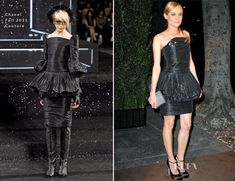 Diane Kruger In Chanel Couture – Chanel and Charles Finch Pre-Oscar Dinner