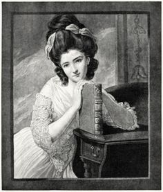Miss Benedetta Ramus. Engraved by William Dickinson, after George Romney.  From Old English mezzotints, by Malcolm Charles Salaman, London, Paris, New York, 1910.  (Source: archive.org)