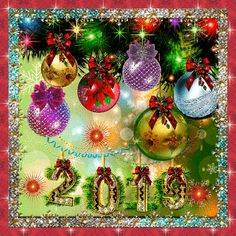 Good morning sister and yours, have a happy New year,God Bless💖🎀🎍⛄ Happy New Year Love, Happy New Year Cards, Happy New Year Wishes, Happy New Year 2019, New Year Greetings, Christmas Scenes, Christmas Images, Christmas And New Year, Christmas Bulbs