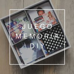 juego de memoria DIY