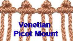 Venetian Picot Mount