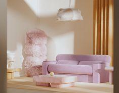 Pastel Home Decor, Pastel Interior, Danish Interior, Cute Furniture, Furniture Design, Pastel Living Room, E Room, Living Room Inspiration, Beautiful Interiors