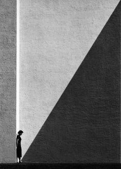 Approaching Shadow Hong Kong 1950s  Photo: Fan Ho