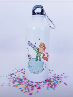 Water Bottle, Drinks, The Little Prince, Manualidades, Drinking, Beverages, Water Flask, Water Bottles, Drink