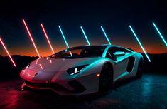 Lamborghini Aventador S - Tillman Light Drawing Car Iphone Wallpaper, Car Wallpapers, Automotive Photography, Car Photography, Lamborghini Aventador Wallpaper, Lamborghini Showroom, Foto Cars, Neon Car, Pictures Of Sports Cars