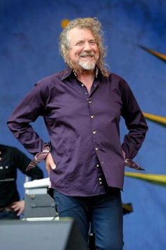 Robert Plant at the New Orleans Jazz Fest, April 2014.