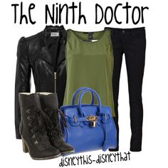 The Ninth Doctor, created by disneythis-disneythat on Polyvore