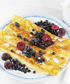 Jak zrobić ciasto na naleśniki, 4 Waffles, Pancakes, Vegetable Pizza, Vegetarian, Vegetables, Cooking, Breakfast, Ethnic Recipes, Food