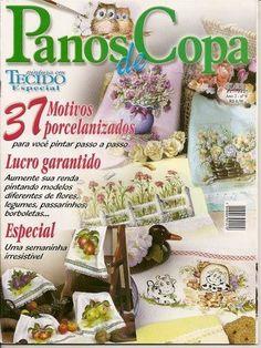 Arte Pintura em Tecido - Rosana Carvalho - Picasa Web Albums...FREE MAGAZINE!!