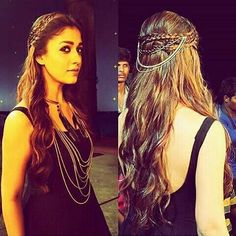 November is an Indian actress who appears mainly in the Tamil cinema. luxury nayanthara hairstyle of all t Loose Hairstyles, Celebrity Hairstyles, Braided Hairstyles, Katrina Kaif, Nayanthara Hairstyle, Hair Chains, Different Hairstyles, Trends, Hair Today