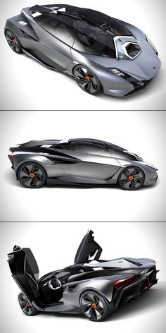 Lamborghini Perdigon Unveiled, is Jet Fighter-Inspired - TechEBlog