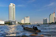 Chao Phraya River in Bangkok - Bangkok Waterway