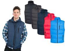 Trespass Clasp Mens Hiking Gilet Jacket Light Padded Vest Outdoor Bodywarmer
