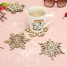 6 Patterns Carved Wooden Snowflake Coaster Holder Coffee Tea Drinkware Mat Heat Insulation Home Shop Cup Saucer Decorative Craft #>=#>=#>=#>=#> Click on the pin to check out discount price, color, size, shipping, etc. Save and like it!