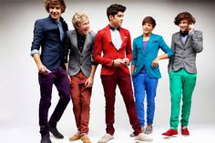 One Direction... this picture could also be on the very attractive human beings board but I'll find another one ;)