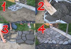 Im Moment ist die Pflasterform in Deutschland sehr gefragt. Diese Form aus stabilem Kunststoff ist ein Hilfsmittel für Gehwege und Terrassen. Man platziert die Form an der gewünschten Stelle, befüllt die mit Zement/Beton und hebt die Form ab. Was ...