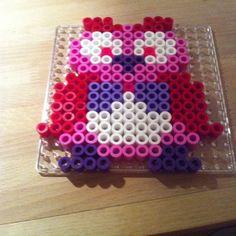 Owl hama perler beads by trinesrablerier