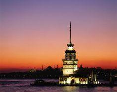 Kiz Kulesi (Maiden's Tower), Uskudar (Anatolian Side), by Izzet Keribar