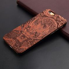 Thin Luxury Bamboo Wooden Shockproof Phone Case For Iphone 5 5S 6 6S 6Plus 6S Plus 7 7Plus Cover