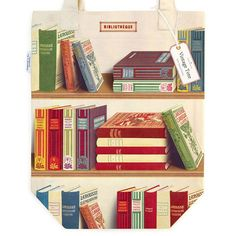 This Library Book Tote Bag is ideal for daily errands, the farmer's market, and any adventure in-between. This 100% cotton heavyweight tote bag features an interior pocket and beloved imagery from the Cavallini archives. Book Wrap, Little Red Hen, Vintage Library, Custom Journals, Paper Source, Library Books, Antique Books, Vintage Colors, Canvas Tote Bags