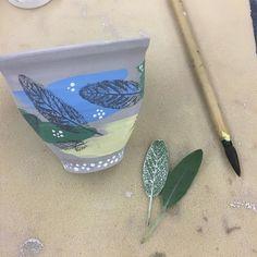 "20 Likes, 3 Comments - Kristina Latraverse (@amessyartroom) on Instagram: ""Professional Development ❤Printmaking on Greenware #artteacher #arteducation…"""