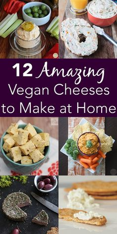 These vegan cheese recipes will change hearts and minds! @Glue & Glitter