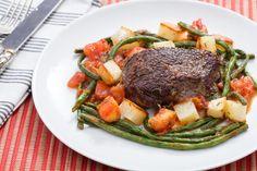 Steaks & Roasted Potatoes