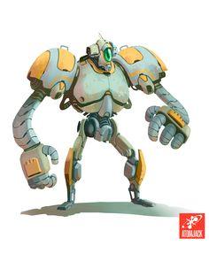 Awesome Robot Design from Atomic Jack Games