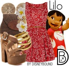 Lilo from Lilo and Stitch.