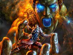 God of War fight scene