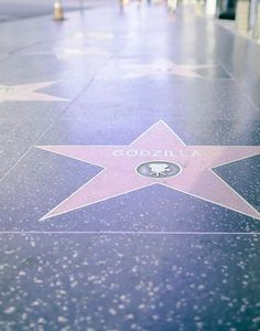 Whimsical travel photo hollywood star downtown Los by Raceytay, $15.00