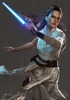 Rey by Ron-faure on @DeviantArt