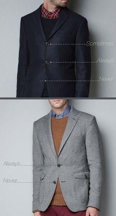 How You're Supposed To Wear Suits | Men's Fashion | Menswear | Gentleman Style | Moda Masculina | Shop at designerclothingfans.com