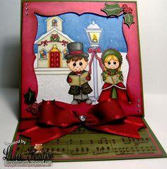 Christmas Caroling by Lisa F.