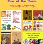 Chinese New Year Crafts and Books for Kids: The Year of the Horse