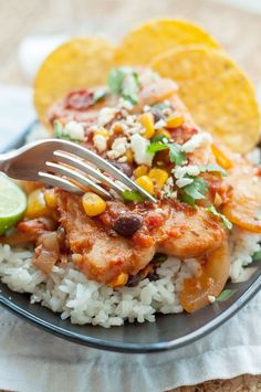 Mexican Fish recipe: Mexican Fish is perfect for a healthy weeknight dinner! This easy fish recipe is bursting with robust flavors, but quickly comes together in 30 minutes and uses only one pot. Mexican Fish Recipes, Easy Fish Recipes, Seafood Recipes, Healthy Dinner Recipes, Healthy Snacks, Mexican Dishes, Crockpot Fish Recipes, Mexican Salsa, Healthy Sides