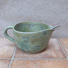 Batter bowl ....wheelthrown stoneware ceramic