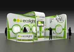 EcoLight exhibition stand on Behance