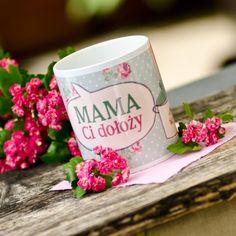 """Kubek """"Mama Ci dołoży"""" - #spodlady #DzienMamy #kubek #retro"""