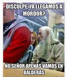 ★★★★★ Mejores memes de risa: ¿Ya llegamos a Mordor? I➨…