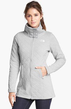 The North Face 'Caroluna' Quilted Fleece Jacket