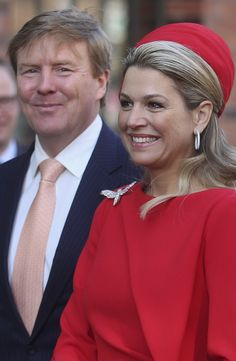 King Willem-Alexander I and Queen Maxima of the Netherlands in Hamburg, German 3/20/2015