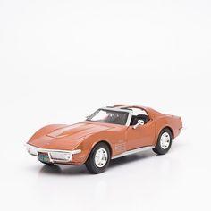 Miniatura 1970 Corvette - Maisto - 1:24 - Machine Cult   A loja das camisetas de carro e moto