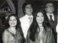 Parveen Babi , Rakhee , Amitabh Bachchan , R. D. Burman