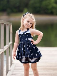 64 Ideas For Baby Outfits Newborn Girls Summer Baby Girl Fashion, Toddler Fashion, Kids Fashion, Toddler Dress, Toddler Outfits, Kids Outfits, Girls Summer Outfits, Little Girl Outfits, Outfit Summer